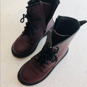 Faux Doc Martens boots